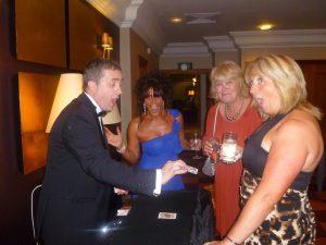 London magician Mike Sullivan close up magic